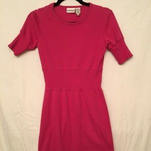 Vintage Newport News Fuchsia cotton Dress EUC